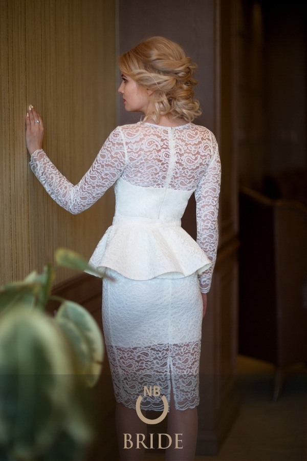 0e371e305f6 Короткое свадебное платье купить – каталог